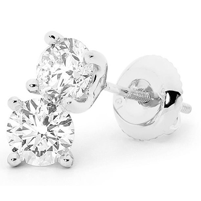 Diamond Earrings – EDE002